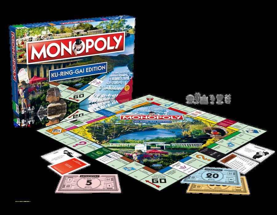 Kuringgai Edition of Monopoly